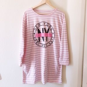 Dresses & Skirts - Graphic NY Long Tee